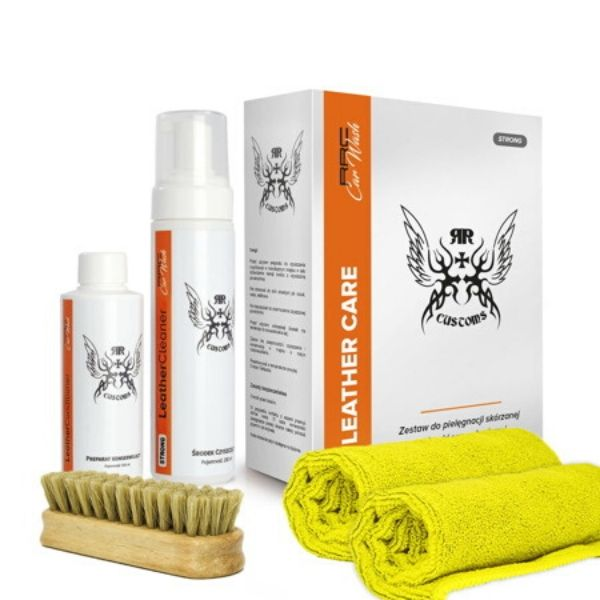 BOX LEATHER CLEANER STRONG