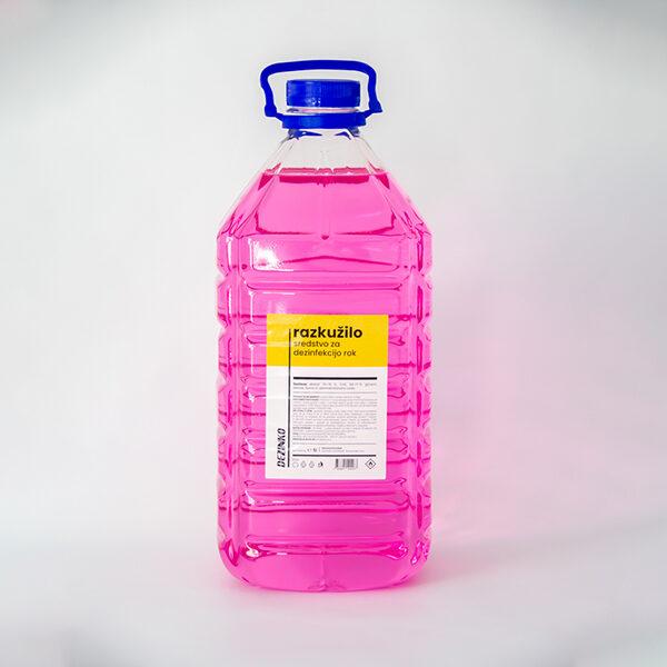 Razkužilo za dezinfekcijo rok na osnovi etanola 70-75%